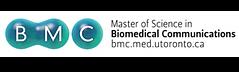 bmc logo biomedical communications uoft toronto medical illustration program mscbmc