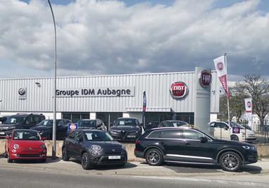Fiat Alfa Romeo et abarth à Aubagne