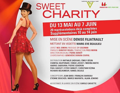 Marie-Eve Beaulieu, Sweet Charity, Denise Filiatrault