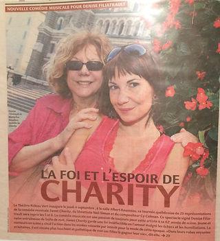 Marie-Eve Beaulieu et Denise Filiatrault, Sweet Charity