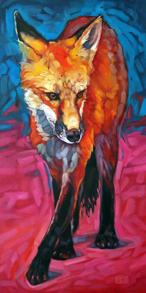 2015 . oil on canvas . 36 x 18 800 . gallery wrap available thru Austin Art Garage
