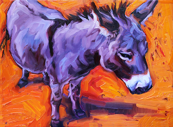 Rescued Burro Series