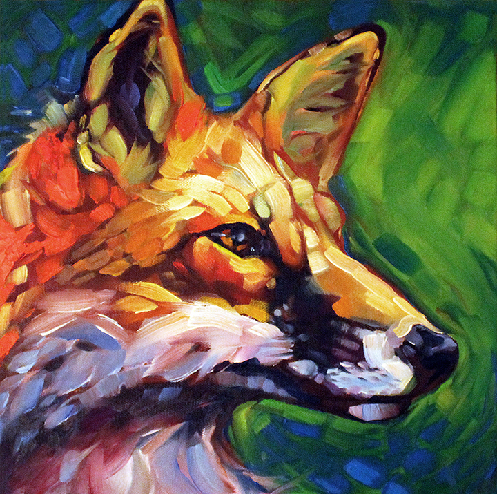 Foxy Color Study