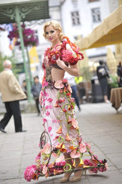 flower Dress by Ilona Veris