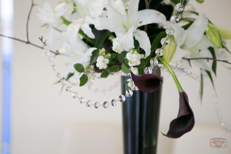 черные Каллы на свадьбе