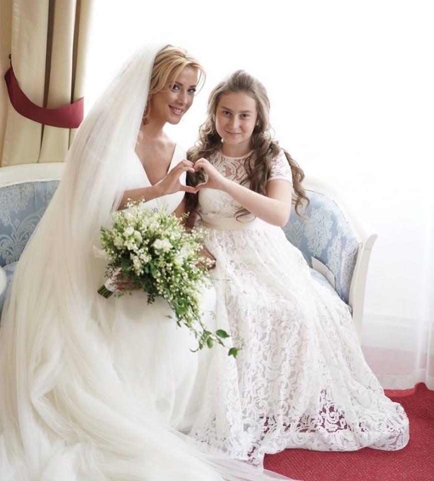 Ландышевый букет невесты
