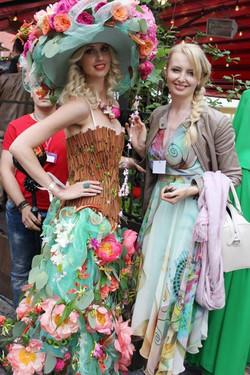 Цветочное платье Илона Верис