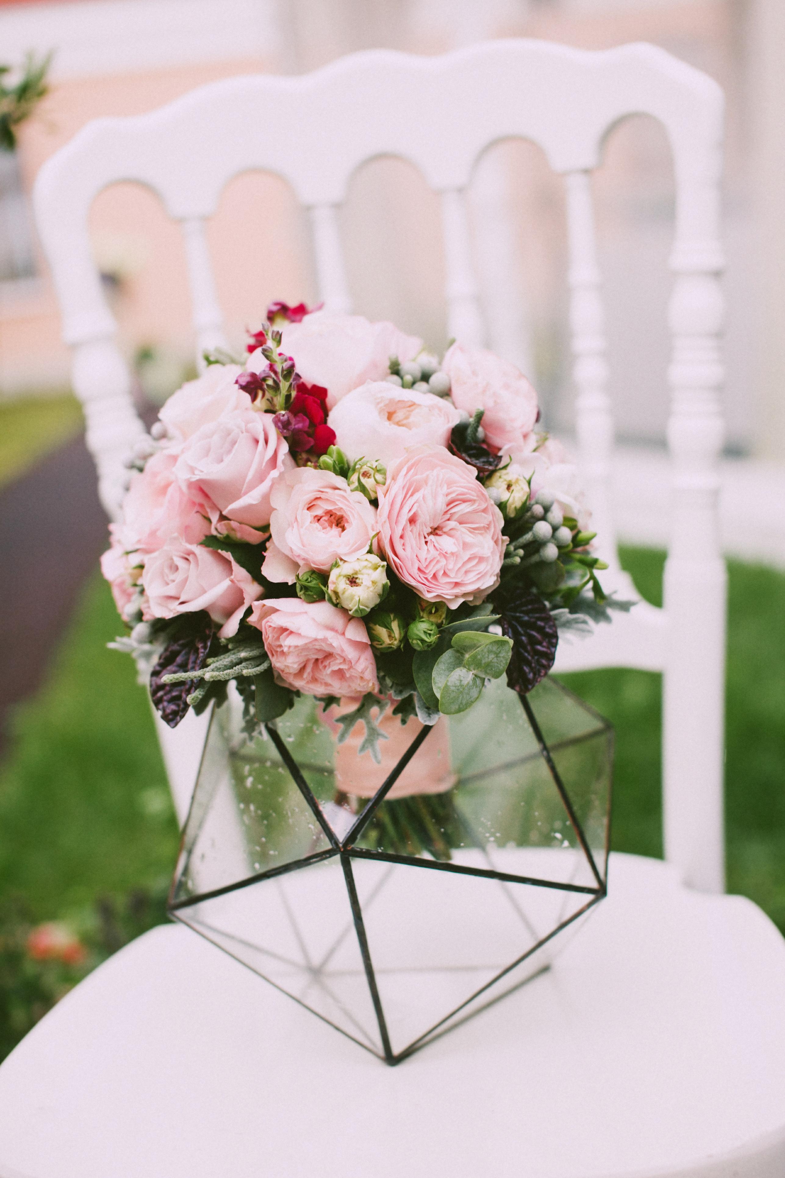 Букет из английских роз
