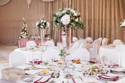 Композиции на свадьбе, круглый стол