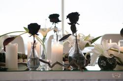 черно-белая свадьба спб