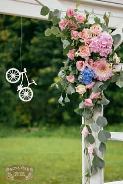 велосипедная свадьба