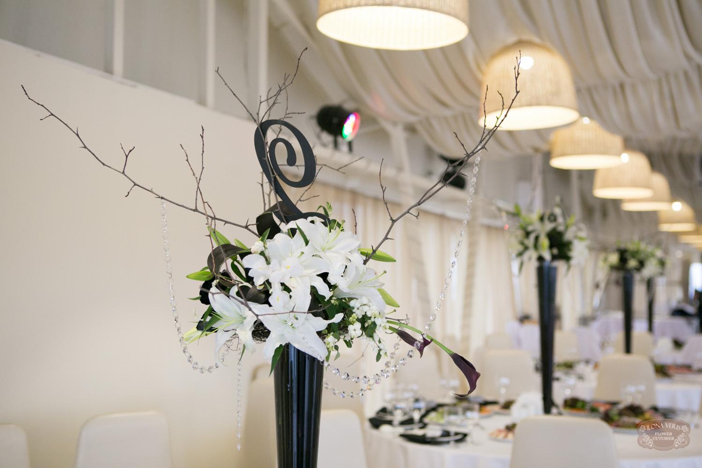 черно-белая свадьба в DO ZARI