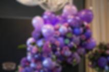 Оформление свадьбы шарами и цветами  в СПб