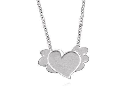 Halsband Flying heart