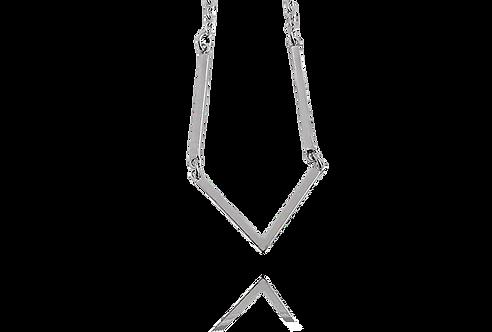 Halsband V med tunna stavar