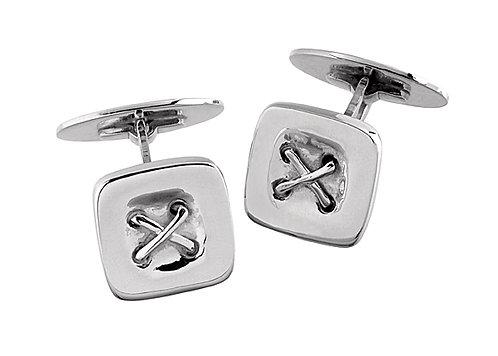 Manschettknapp silver knappar