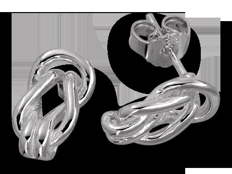 Små knopar i silver