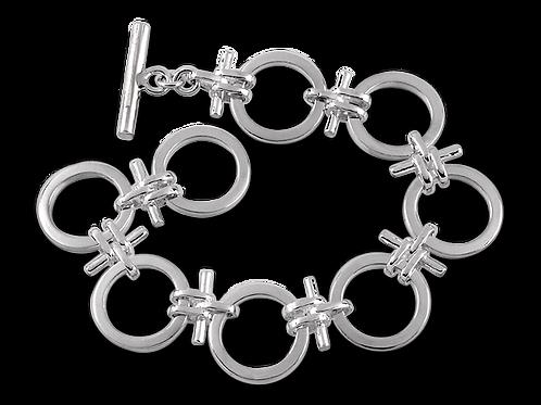 Armband med ring och stav