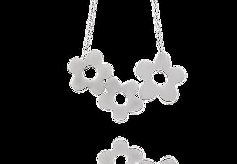 Halsband med tre blommor
