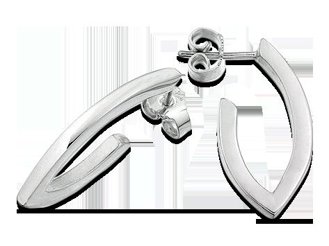 Örhänge spetsig ring