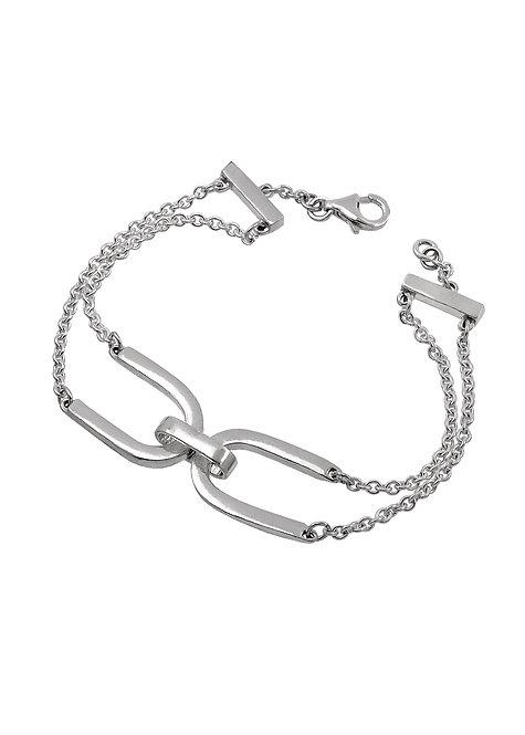 Armband med dubbla bågar