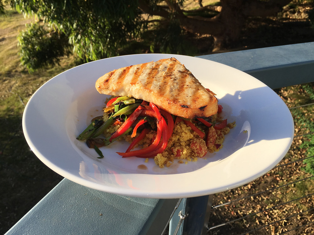 Grilled Swordfish for great nutrition