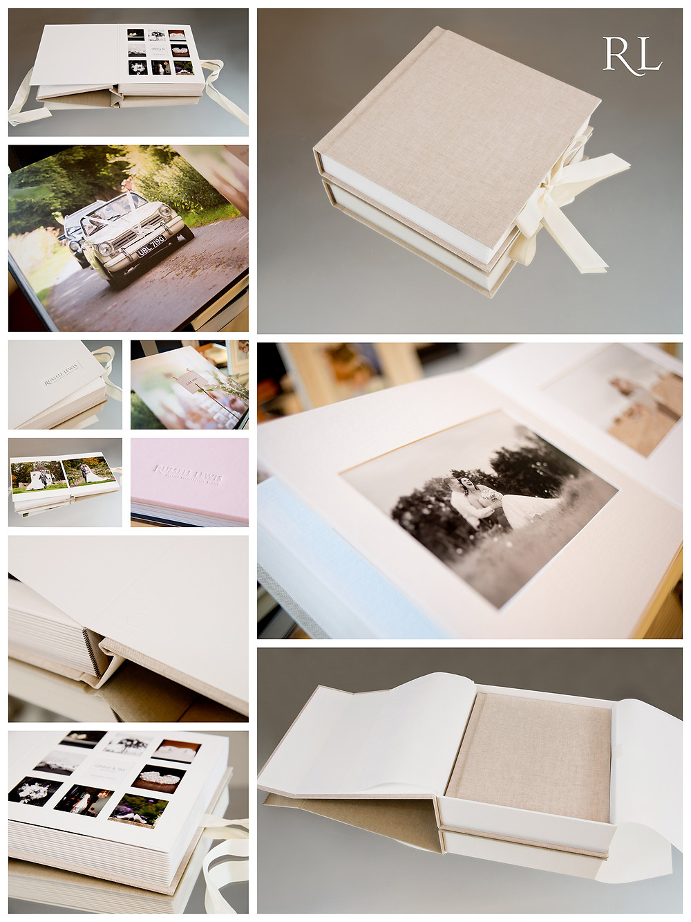 Russell Lewis Wedding Albums