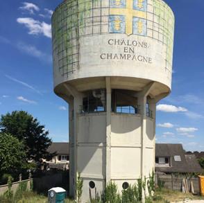 château d'eau de Chalons en Champagne