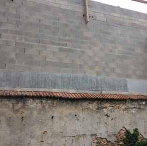 Mur Montesson AVANT