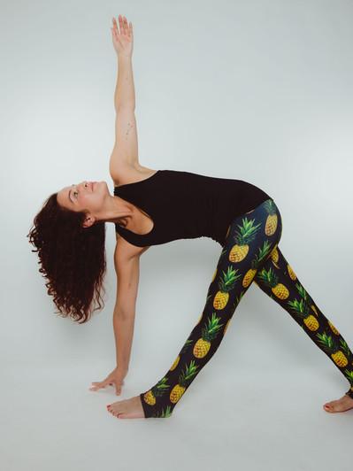 Reversible Pineapple Leggings
