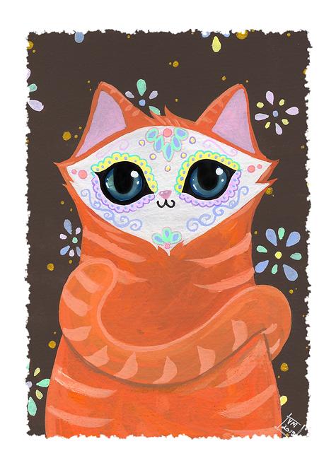 Ginger Cat-lavera