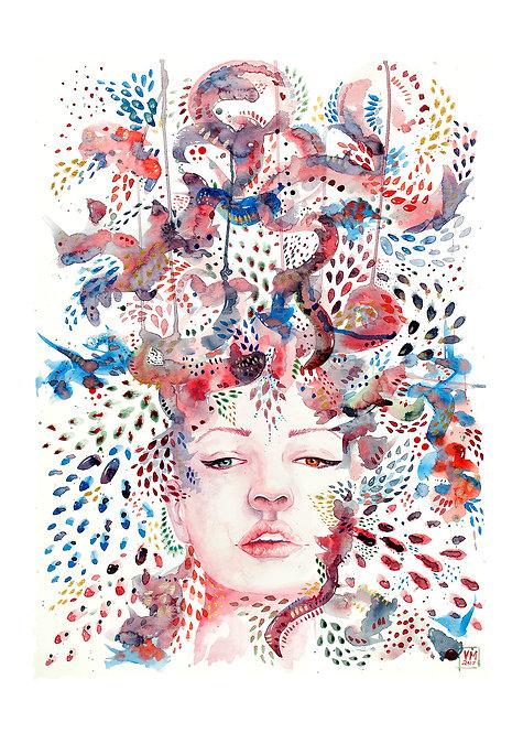 Chromi Art Print