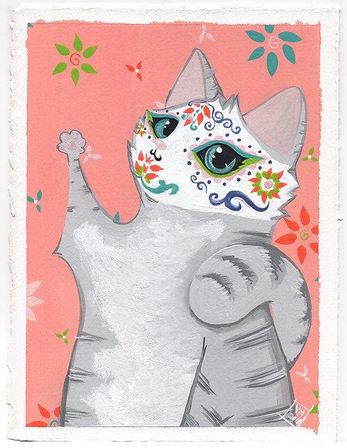 Tabby Catlavera-Gouache Painting
