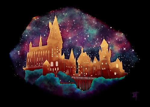 Hogwarts Pride Art Print (4 Houses  Available)