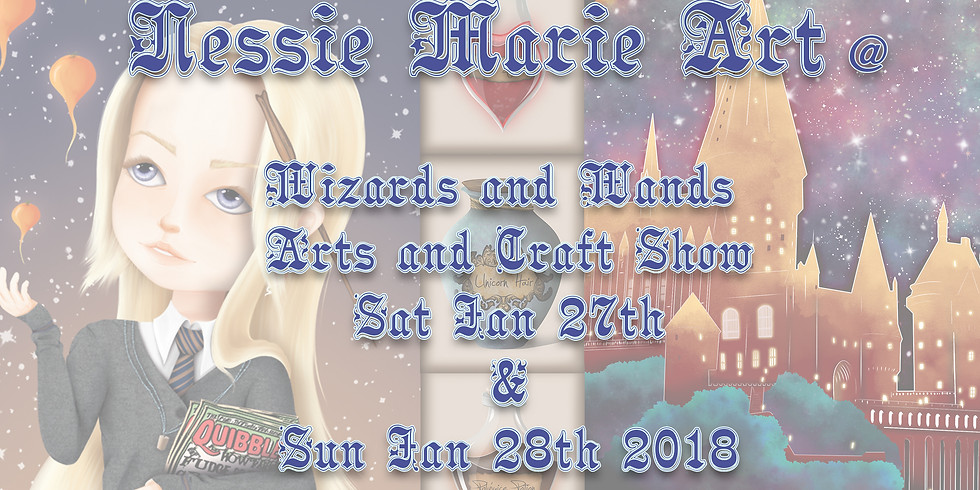 Nessie @Wizards and Wands Arts and Craft Show