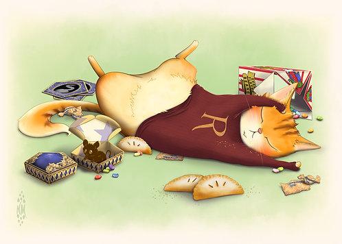 Potter Cats Art Prints