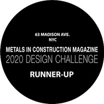 we are the finalists of the metals in construction design challenge 2020