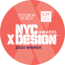 """our surfbench is the winner of the category """"made in the boroughs"""" of the nyc x design awards 2020"""