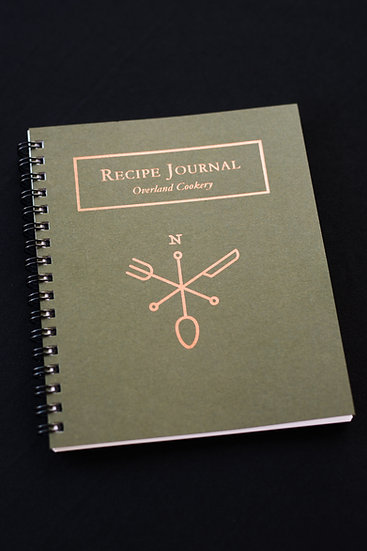 Overland Cookery Recipe Journal