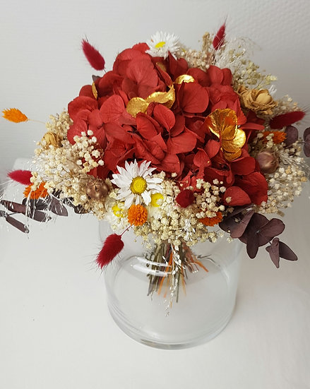 Bouquet GM rouge intense