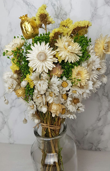 Bouquet jaune pavot