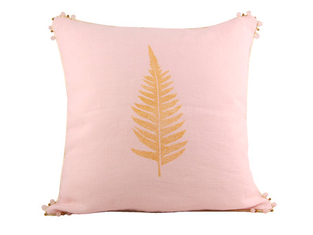 Coussin Rosée rose