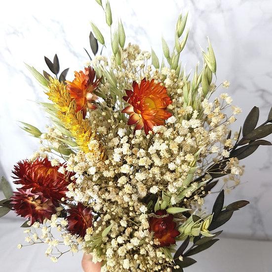Bouquet gypsophile blanc