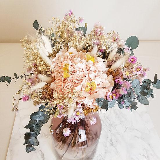 Bouquet GMHortensia rose