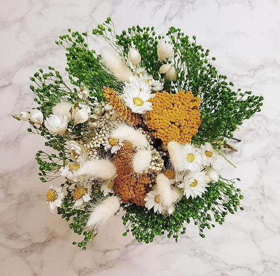 Bouquet jaune achillée