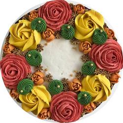 🍂🌾🎃🍁🌻 #bakedbyjordan #cake #cupcake #cakes #cupcakes #bake #baker #baking #homemadebaking #vani