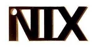 NIX / nothing (plastic) & text