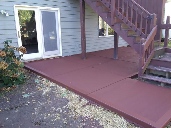 Patio Repair Color Madison WI