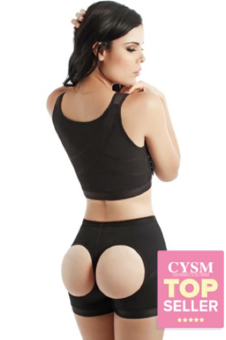 202 – Short Térmico Hoyos Realza Gluteos / Thermal Butt-Lifting Shorts