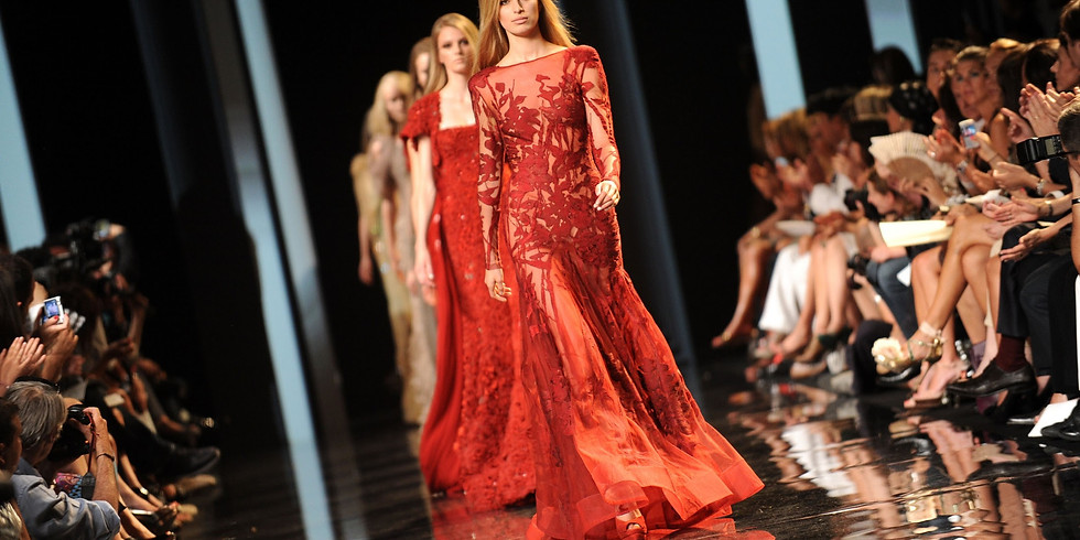 The Golden Model Gala fashion show (TBD)